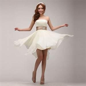 New arrival 2016 the bride waist tube top short formal for Formal short dresses for weddings