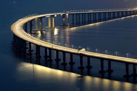 hong kong macau bridge china opens mega bridge linking hong kong to mainland