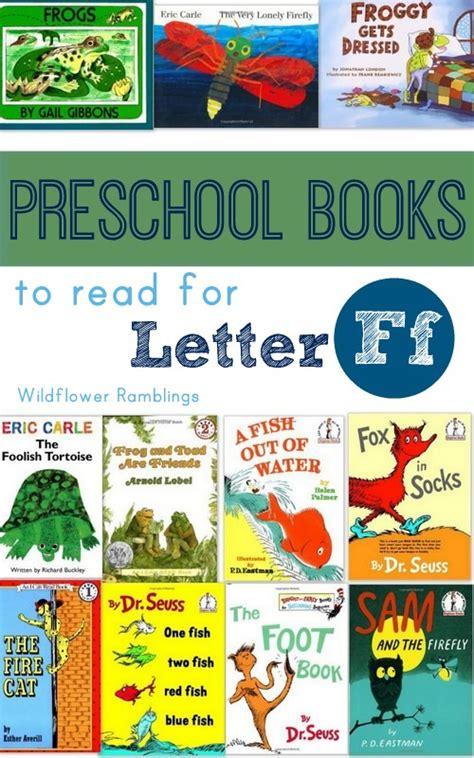 preschool books for the letter f wildflower ramblings 187 | 1 001