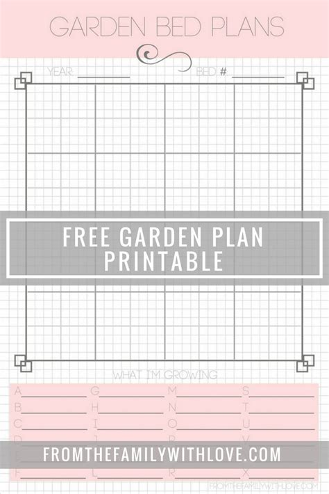 free garden planner square foot garden planner printable garden ftempo