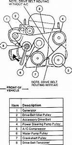 How To Get Belt Back After Installin Alternator On 99 Mystique
