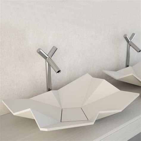 Les Design A Poser Vasque Design 224 Poser Origami Eumar Sdebain