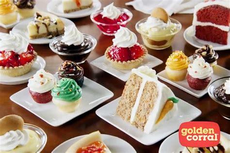 """Golden Corral Touts """"Las Vegas-Style Desserts"""""""