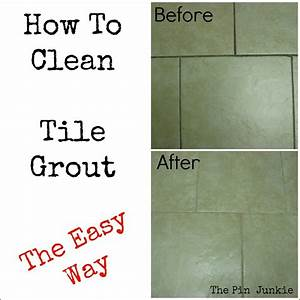 Easiest way to clean bathroom tiles image bathroom 2017 for Best way to clean shower grout lines