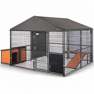 Top rated retriever expandable kennel accessories i for Dog kennel accessories