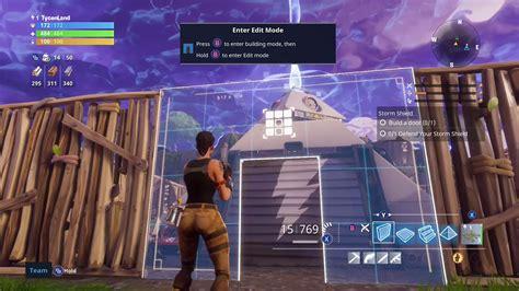 fortnite building  storm shield xbox  gameplay