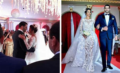 habiba ghribi et yassine saya fêtent leur mariage kapitalis