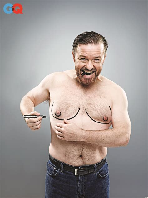 Ricky Gervais Tells Gq Magazine He Doesn't Watch The Us