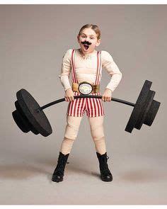 vintage zirkus gewichtheber kostuem selber machen vintage