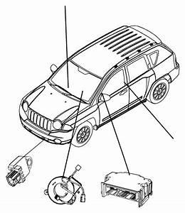 Dodge Ram 1500 Sensor  Air Bag  Impact  Front