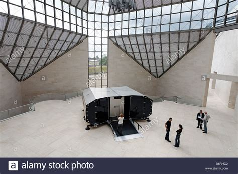 museum of modern mus 233 e d moderne grand duc jean mudam stock photo royalty free
