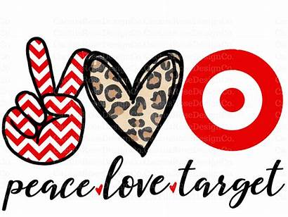 Peace Sublimation Target Transfer Crafters Rose Transfers