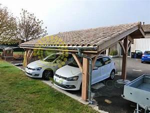 Carport 2 Voitures Bois : carport acier 2 voitures free carport plus karibu abri ~ Dailycaller-alerts.com Idées de Décoration