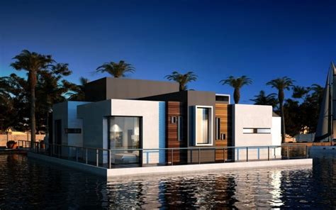 Kitchen Window Decorating Ideas - floating villa modern exterior other by united decoration co