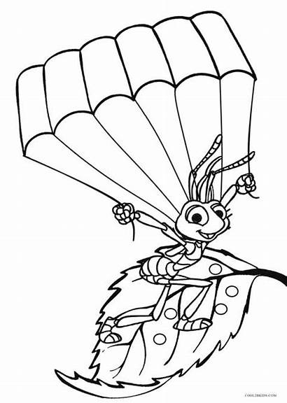 Coloring Bugs Pages Bug Printable Insect Insects
