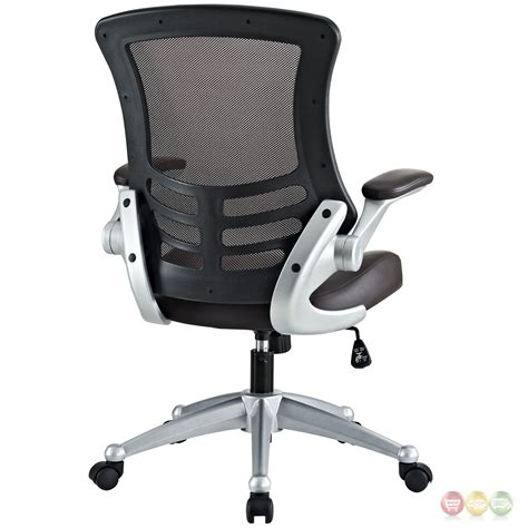 Ergonomic Office Chair With Lumbar Support by Attainment Modern Ergonomic Mesh Back Office Chair W