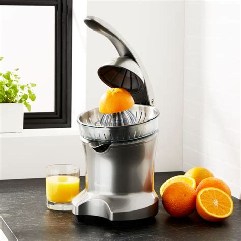 breville citrus press juicer reviews crate  barrel
