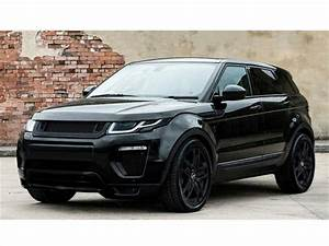 Range Rover Evoque Black Label Edition por Kahn Design ...