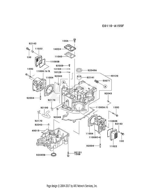 Kawasaki Fdv Stroke Engine Parts Diagram