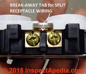 Outlet Break Off Tab
