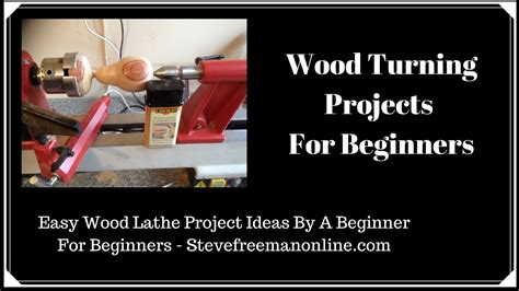 wood turning projects  beginners youtube