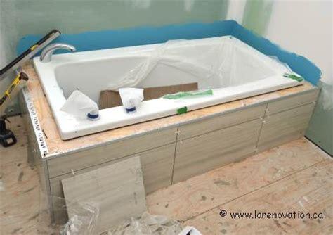 installer une baignoire