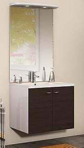 Meuble Sous Vasque 70 Cm : meuble sous vasque 2 portes 70 cm s rie integrale discac ~ Teatrodelosmanantiales.com Idées de Décoration