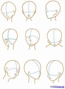 How to Sketch an Anime Face, Step by Step, Anime Heads ...