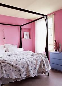 Chambre Rose Pale : quelle couleur avec la peinture rose dans chambre salon cuisine ~ Melissatoandfro.com Idées de Décoration