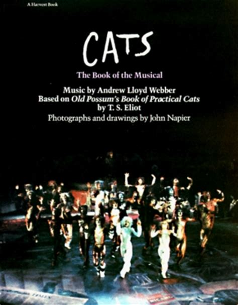 cats  book   musical  andrew lloyd webber