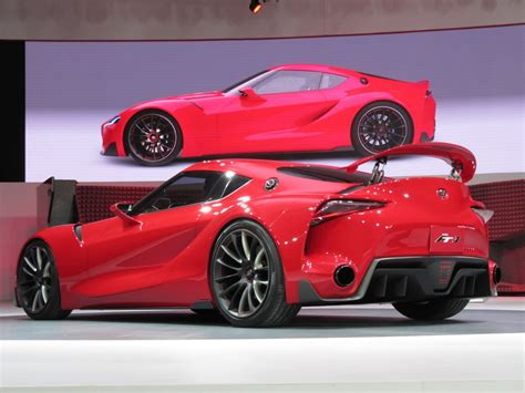 Toyota Ft 1 Concept Supra Successor Hinted At Detroit Show
