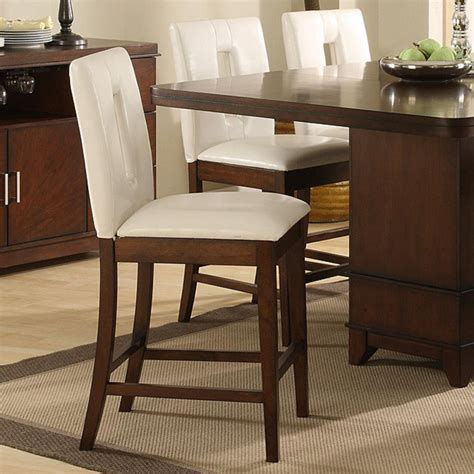 lancaster counter height chairs with key back set of