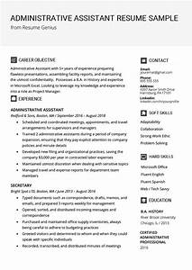 Administrative Assistant Resume Example  U0026 Writing Tips