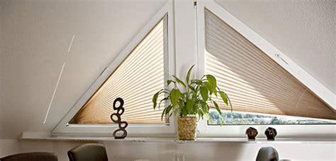 Dreiecksfenster Sichtschutz by Plissee Bildergalerie Und Deko Beispiele Im Raumtextilienshop