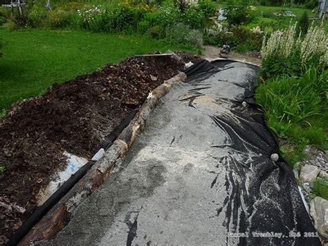 walkway edging material cheap garden path design idea garden path wooden edging instructions