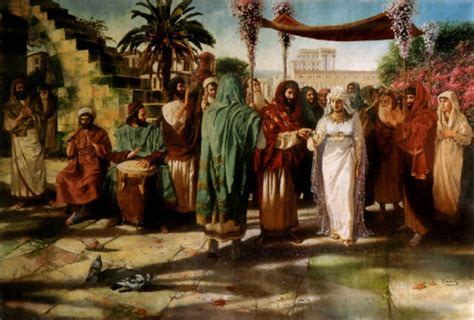 Wedding In Ancient Jerusalem (dennis Bacchus)