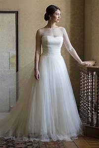 plus size wedding gowns with 3 4 sleeves plussize With 3 4 sleeve wedding dress plus size