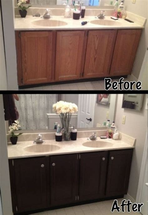 painting bathroom vanity before and after 20 smartest ways of painting bathroom vanity before and after