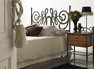 Tete De Lit Bois Vieilli : t te de lit t tes de lit en bois massif m tal bambou ~ Teatrodelosmanantiales.com Idées de Décoration