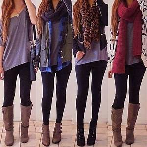 Outfit Combinations to Wear with Leggings/ Dresses to wear with leggings