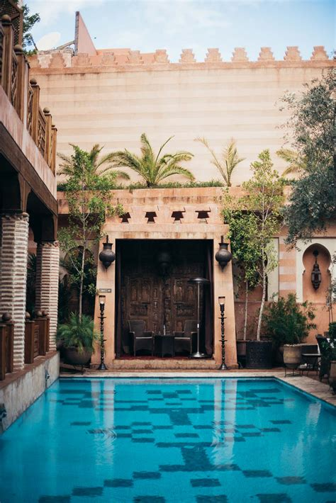 legendary riad in the medina of marrakech la maison arabe marrakech morocco ajdas