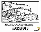 Coloring Cement Pages Truck Mixer Construction Concrete Vehicle Trucks Yescoloring Colouring Colour Hard Mixers Clipart Duty Boys Vehicles Road Clip sketch template