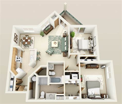 4 Bedroom Apartment House Floor Plans by 1 2 3 Bedroom Apartments With Heated Underground