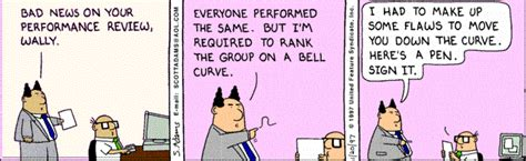 forced ranking   bell curve  outdated hr