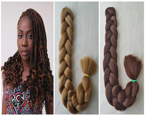 100% Kanekalon Hair Braid 82inch, 165g, Ultra Braid Hair