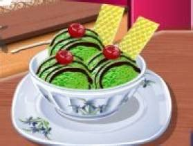 jeu ecole de cuisine de glace au th 233 vert sur