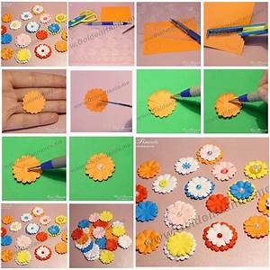 How To Make Easy Paper Flowers step by step DIY tutorial ...