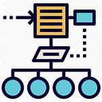 Icon Process Flow Algorithm Chart Steps Icons