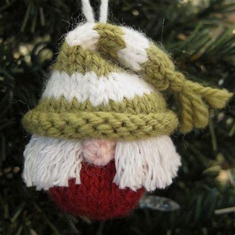 knit elf ornament allfreeholidaycraftscom