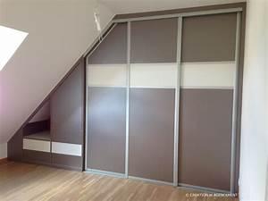 chambre sous pente de toit 10 indogate placard chambre With chambre sous pente de toit